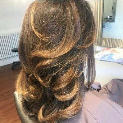 Image of hair style created by Chobham Hair Stylist