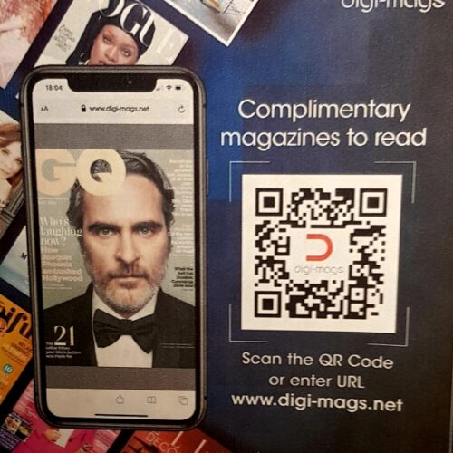 Digi Mags at chobham hair studio